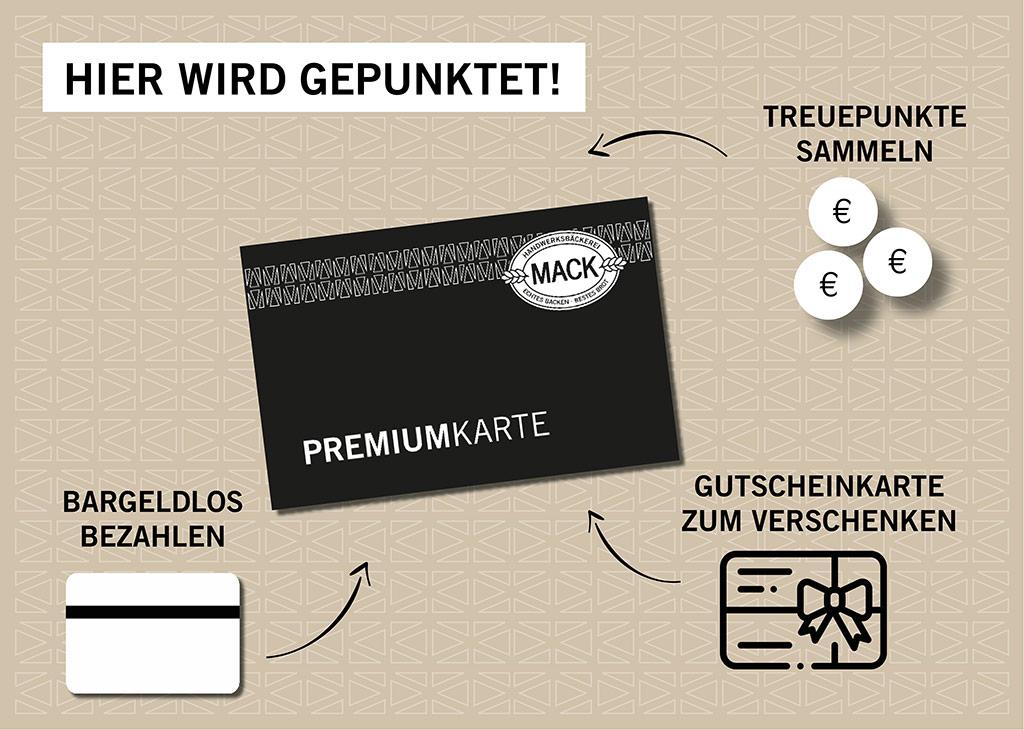 Mack - Vorteile der Premiumkarte